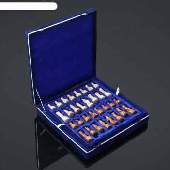Шахматы элит,доска 30 х 30 см.,вид 2, оникс