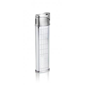 Зажигалка caseti газовая пьезо, сплав цинка, покрытие хромиров