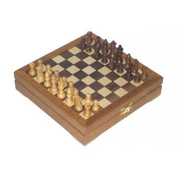 Мини-шахматы деревянные (высота короля 1,75)