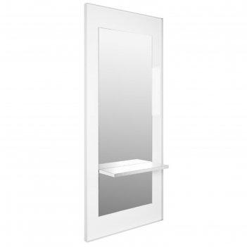 Зеркало марсель, цвет белый/серый