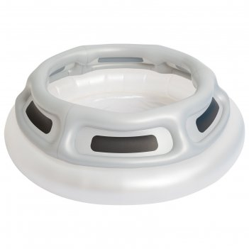 Бассейн надувной летающая тарелка, с подсветкой, 147 х 43 см, от 3 лет