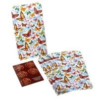 Набор подарочных конвертов крафт бабочки (10 шт.)