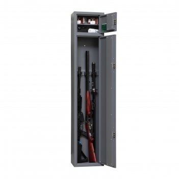 Сейф оружейный шкаф канонир, нижняя внутренняя секция 128 см