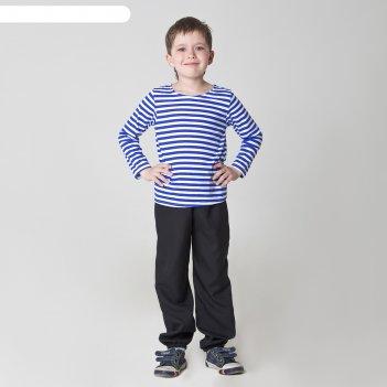 Карнавальная тельняшка-фуфайка военного детская размер 28  рост 104