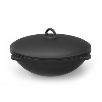 Чугунный казан grillver на 18 литров для сада