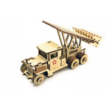 Конструктор lemmo советский грузовик катюша зис-1/лт-1