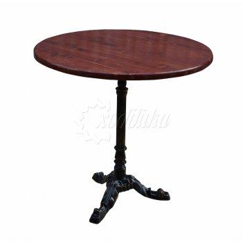 Чугунный стол «кафе» 0,8 м