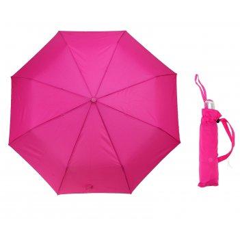 Зонт автомат однотонный, цвет малиновый