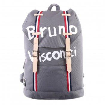 Рюкзак молодежный bruno visconti 47 х 40 х 14.5, bruno visconti, серый