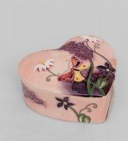 Jp-115/10 шкатулка сердце гармония (pavone)