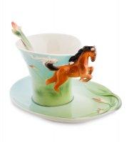 Fm-70/ 1 чайная пара лошадь (pavone)