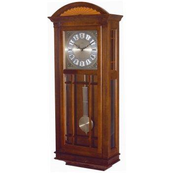 Кварцевые настенные часы westminster с боем (восток) темный орех