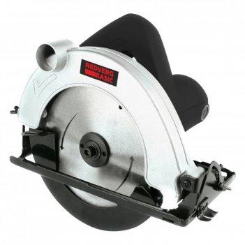 Пила дисковая redverg cs 65 basic, 1300 вт, диск 185x20мм, 4500 об/мин, пр