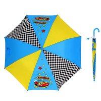 Зонт детский лучший гонщик полуавтомат 8 спиц d=87см со свистком