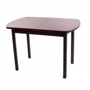 Стол раздвижной эллин венге/алое/крашеные прямые