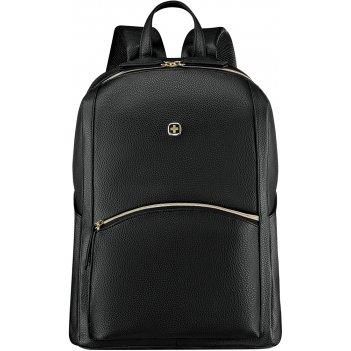 Рюкзак женский wenger, черный, пвх/полиэстер, 31x16x41 см, 18 л