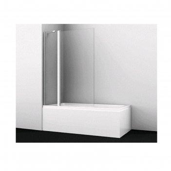 Ограждение на ванну wasserkraft berkel 48p02-110, 1100 х 1400 мм, распашно