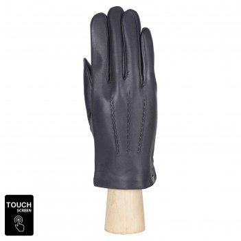 Перчатки мужские, натуральная кожа (размер 9) синий