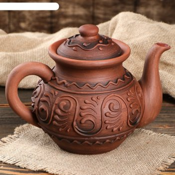 Чайник малый с рисунком, 1 л