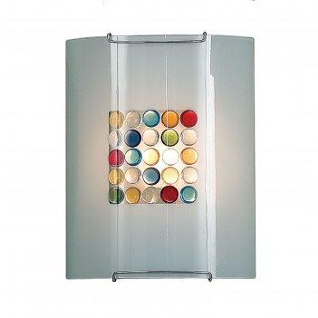 Светильник конфетти 1x100вт e27 цветной 22x10x26см