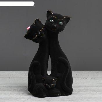 Фигурка декоративная кошка, l9 w8 h17,5 см