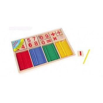 Набор для счёта деревянный считаем вместе  со счётными палочка