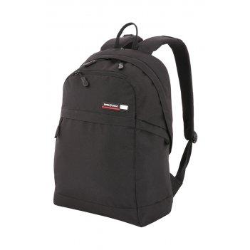 Рюкзак swissgear 14, черный, полиэстер 600d, 30 x 17,5 x 45 см, 24 л