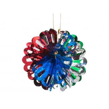 Декоративное изделие подвес шар 20*12см.