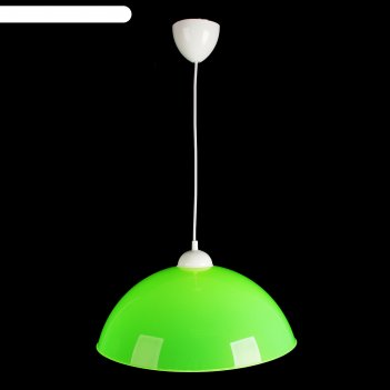 Люстра подвес сафари 2 1 лампа 40w e27 салатовый