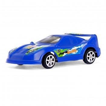 Машина инерционная гонка, цвета микс