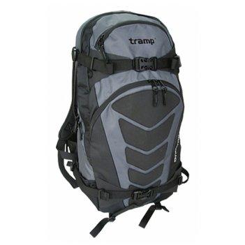 Рюкзак 30 л snow rider серый/черный