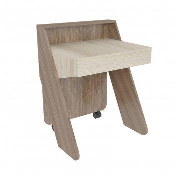 Стол для ноутбука, ясень шимо тёмный/ясень шимо светлый