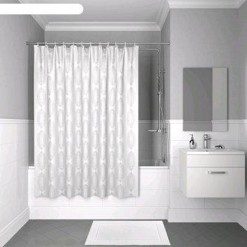 Штора для ванной комнаты iddis d15p218i11, 200x180 см, полиэстер
