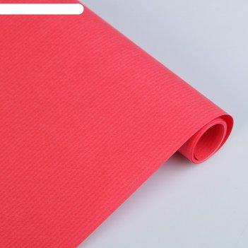 Крафт-бумага, 500 х 2000 мм, sadipal forrapapel, 65 г/м2, красный