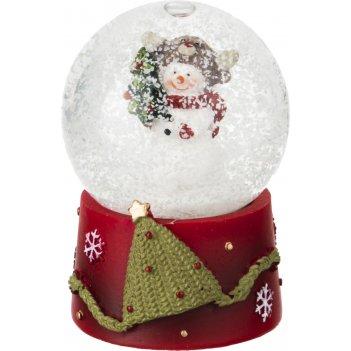 Фигурка новогодний шар 4,5*4,5*6,5 см.
