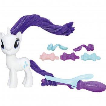 Игровой набор «пони с праздничными причёсками» my little pony, микс
