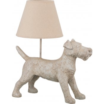Светильник с абажуром собака e27 40w 41*23 см. в...