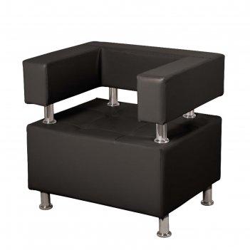 Кресло борк, черный глянец
