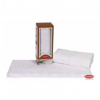 Полотенце almeda, размер 50 x 90 см, белый
