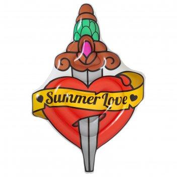 Матрас надувной summer love tattoo, 198 x 137 см, 43265 bestway
