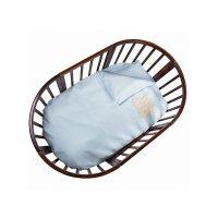 Комплект в кроватку leprotti, 6 предметов, цвет голубой