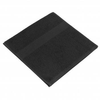 Полотенце махровое soft me small, черное