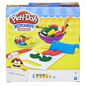 Игровой набор для лепки play-doh приготовь и нарежь на дольки
