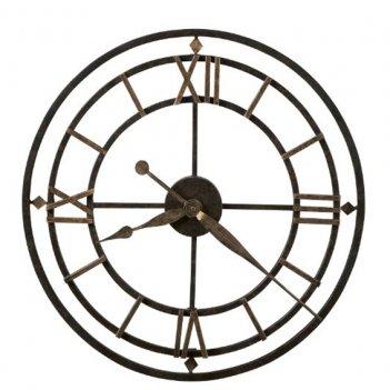 Настенные часы из металла howard miller 625-299 york station