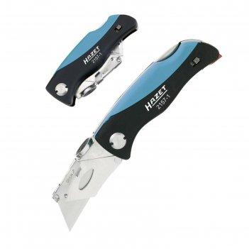 Складной нож hazet 2157-1, 100/159 мм, пластиковая ручка