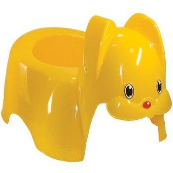 Горшок зайка 2594 желтый