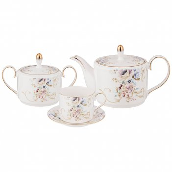 Чайный сервиз lefard завтрак у короля 14 пр. на 6 пер. (кор=4наб.)