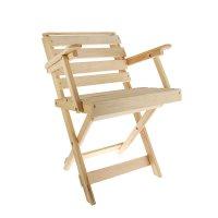 Кресло раскладное с подлокотниками 500*500*900
