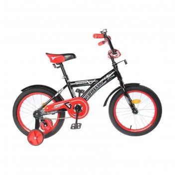 Велосипед 16 graffiti storman rus 2019, цвет чёрный