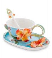 Fm-05/ 2 чайная пара лилии (pavone)